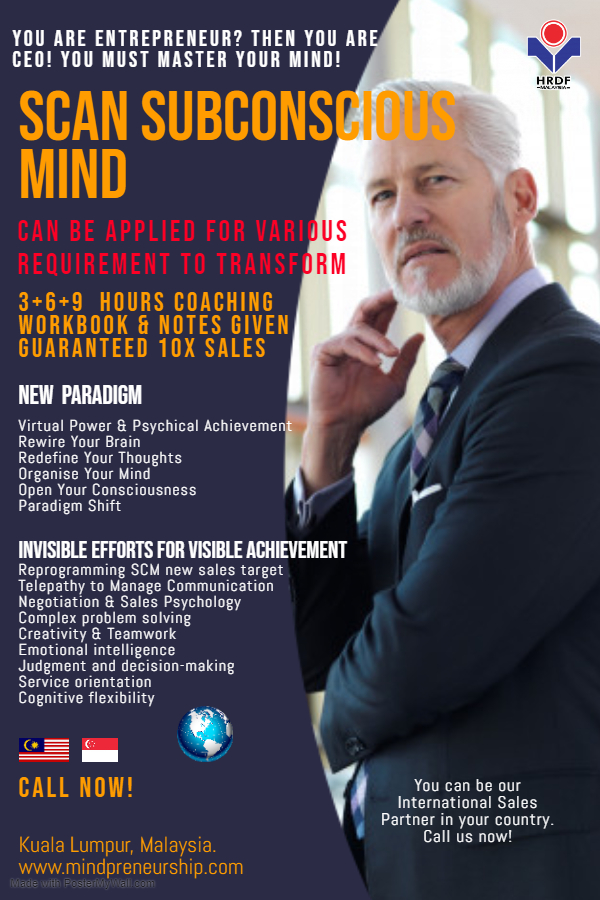 5 Days PenjanaHRDF MindPreneurship