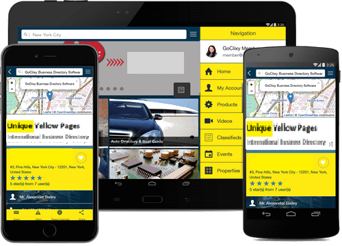 UniqueYellowPages Mobile Application
